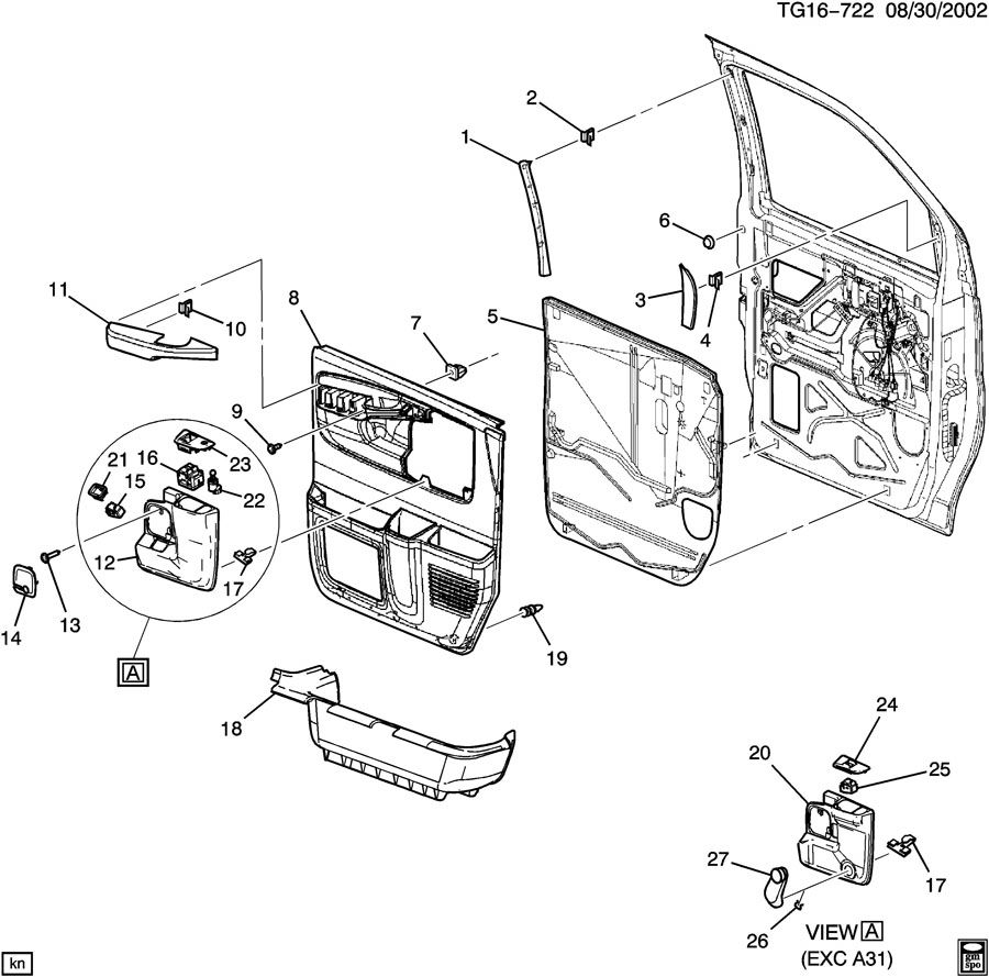 diagram of rear bumper 2014 gmc sierra auto parts diagrams