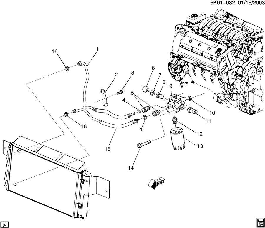 2005 pontiac bonneville engine diagram
