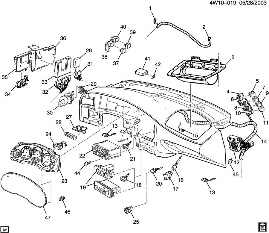 1998 buick regal engine diagram