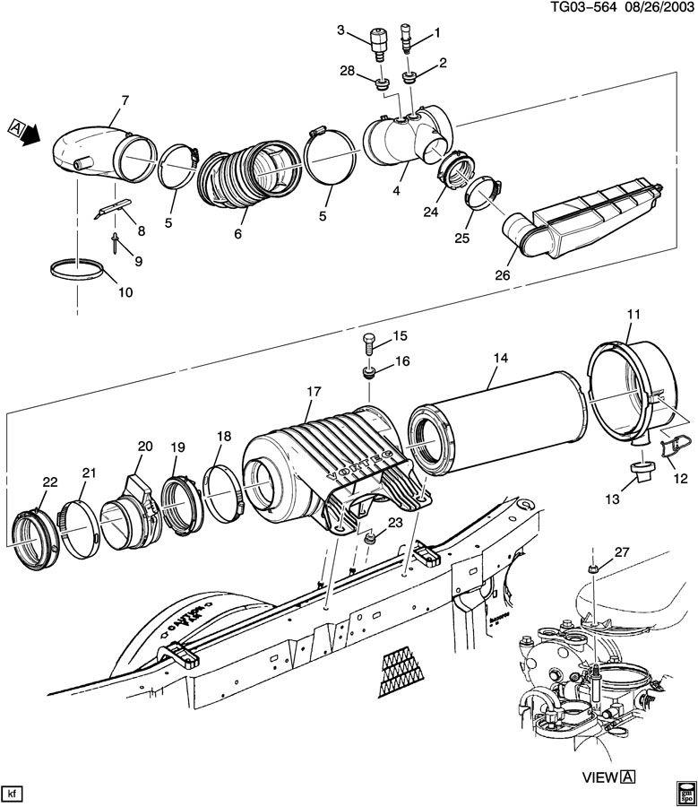 2001 western star engine parts diagram