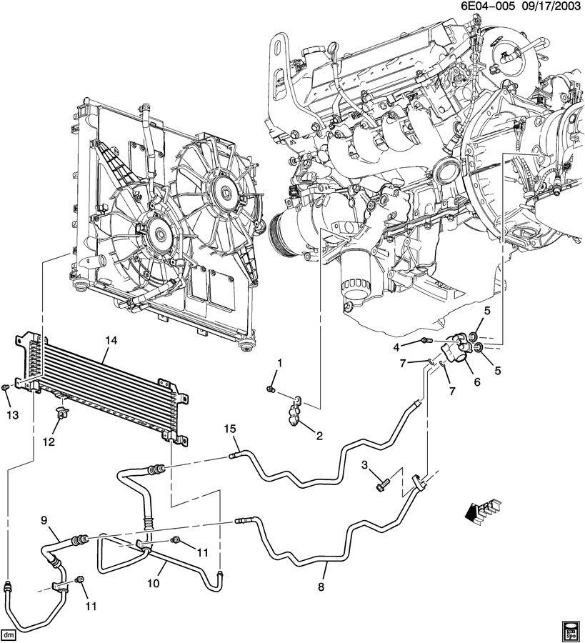 2004 cadillac srx fuse diagram