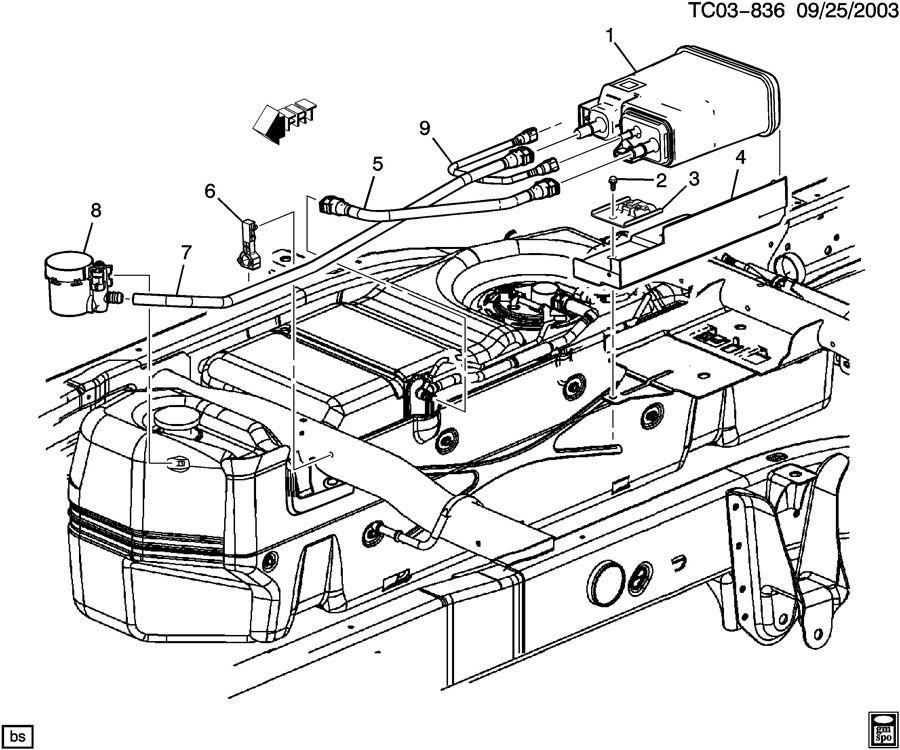 2004 escalade engine diagram