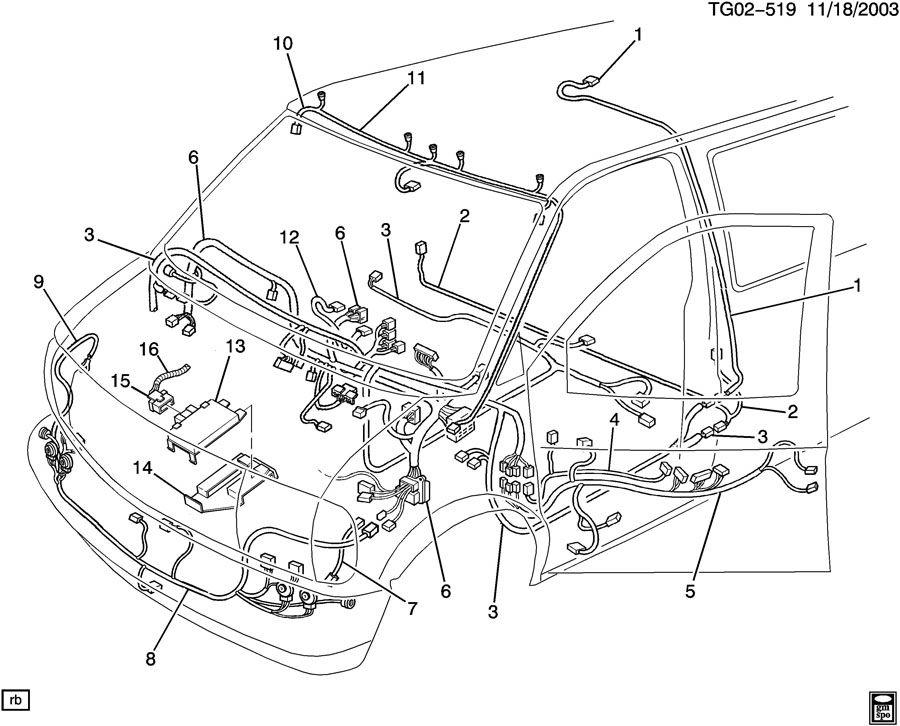 1988 gmc van wiring diagram