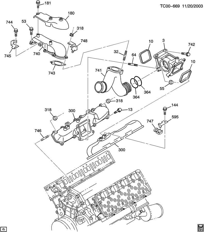 engine diagram 05 6 6 duramax