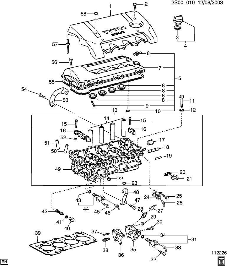 Pontiac Vibe Engine Diagram Electronic Schematics collections