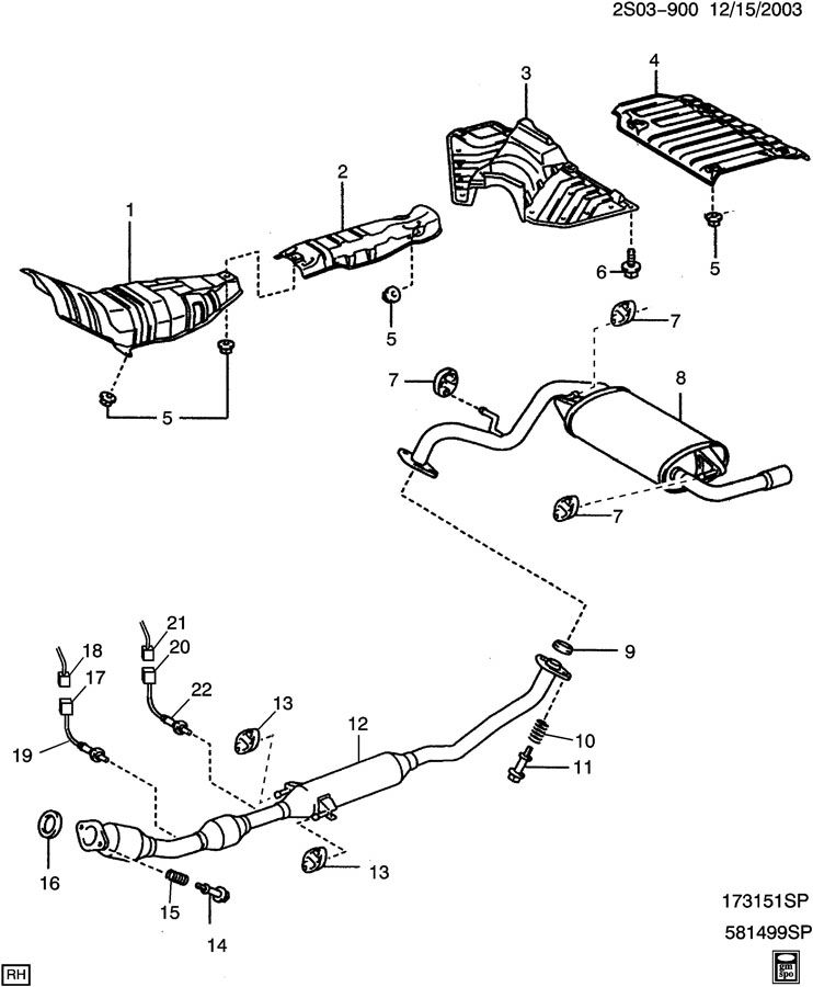 2003 pontiac montana exhaust diagram category exhaust diagram