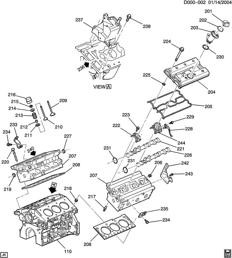 03 cadillac cts engine diagram