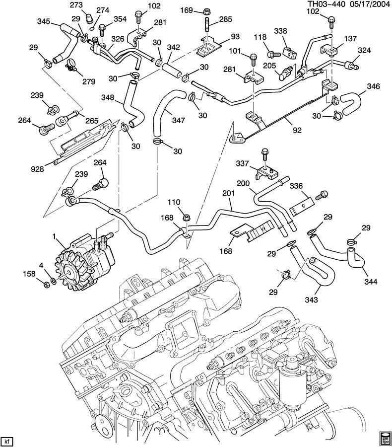 2007 chevrolet duramax engine diagram