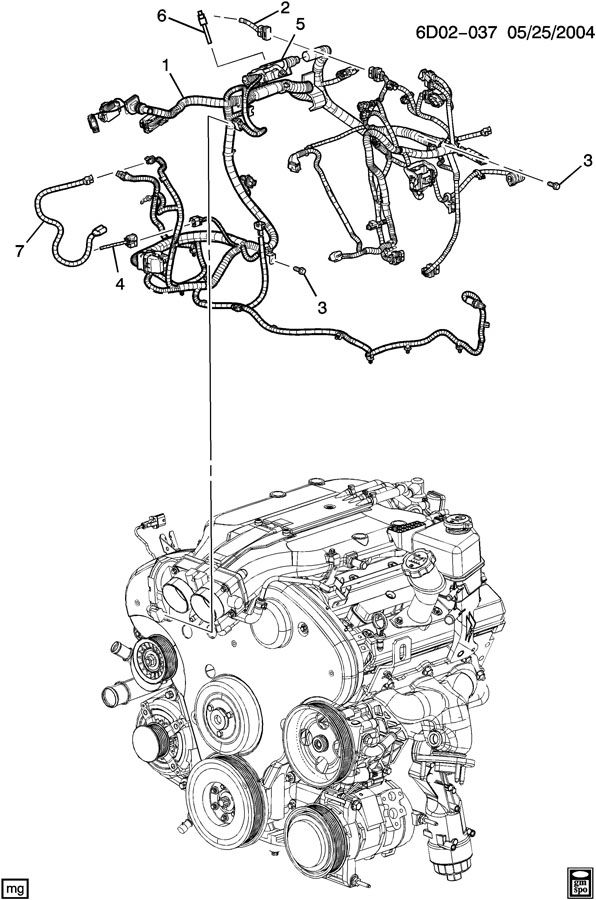 2003 cts wiring diagram