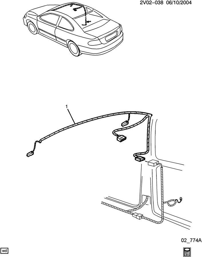 2006 pontiac gto wiring harness