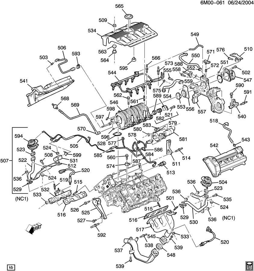 northstar engine diagram on cadillac 4 6 north star engine diagram