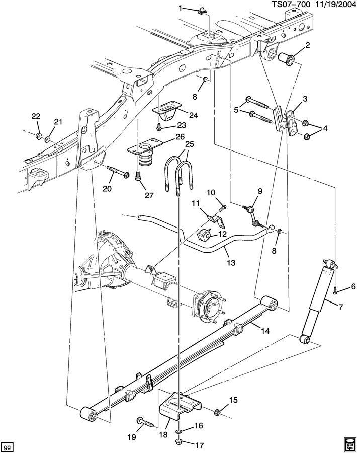 2004 Chevy Colorado Parts Diagram Wiring Schematic Diagram