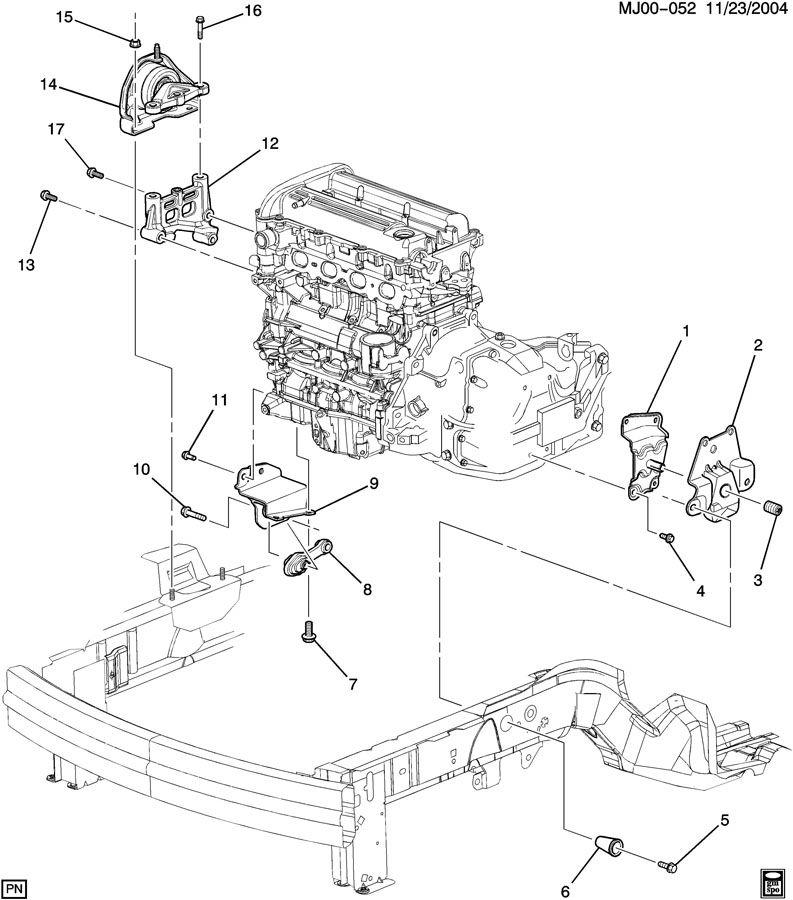 gm fuel filter mount