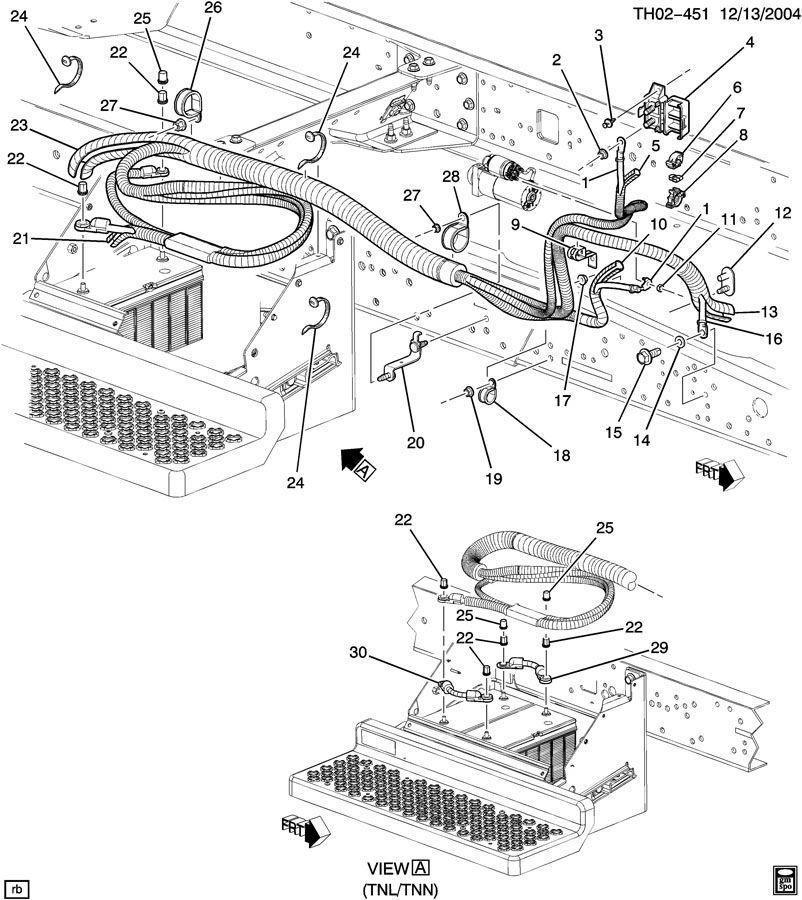 2001 gmc isuzu npr wiring diagram