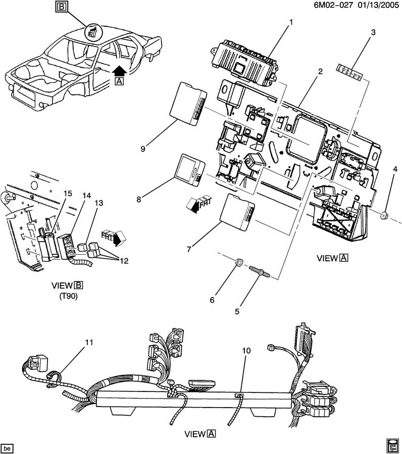 2006 cadillac sts sunroof wiring diagram