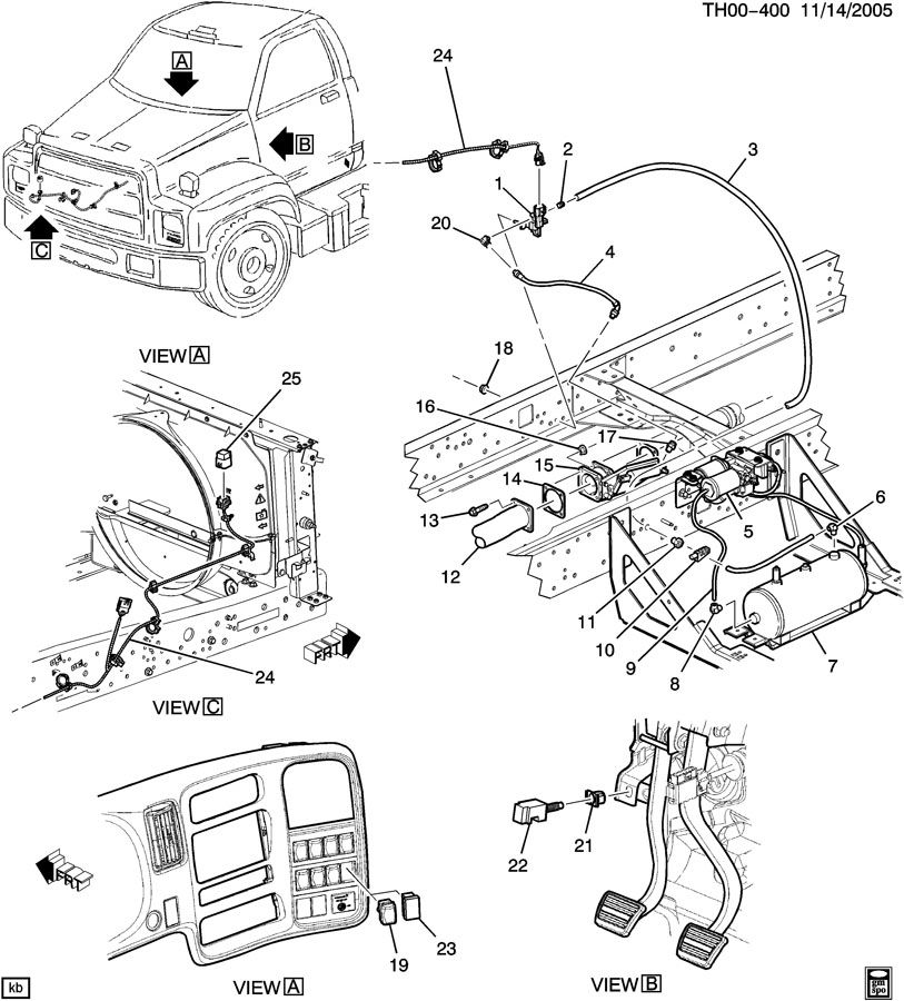 2003 chevy c4500 fuel pump wiring diagram