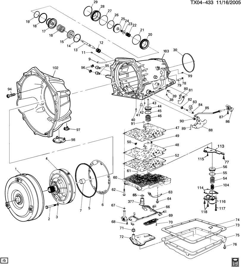 2007 trailblazer engine diagram