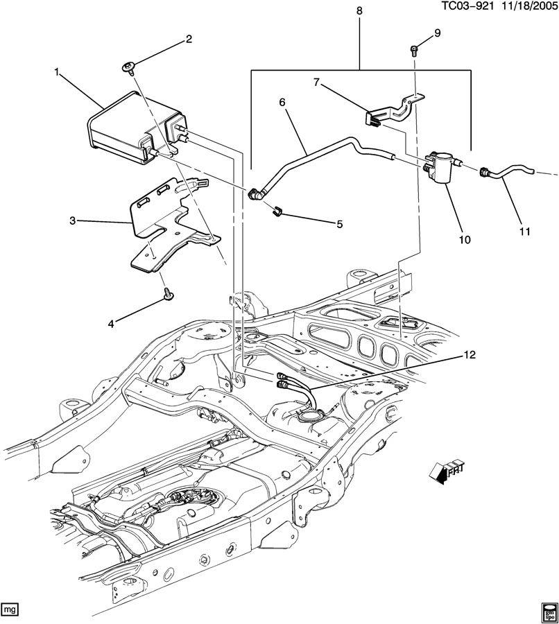 2011 chevy cruze evap purge valve