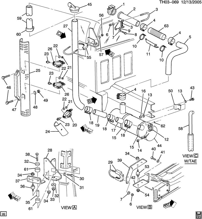1999 gmc c7500 wiring diagram with a cat 3126