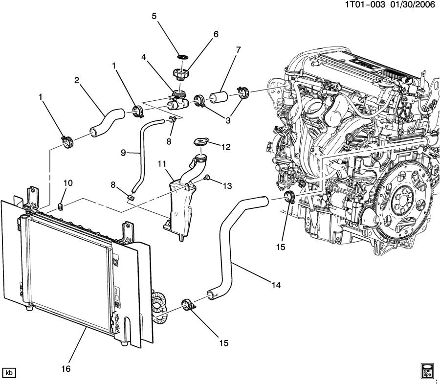 2010 hhr engine diagram
