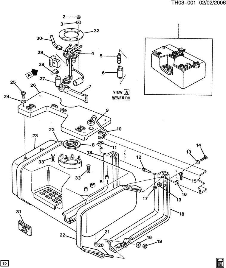 gmc fuel pump