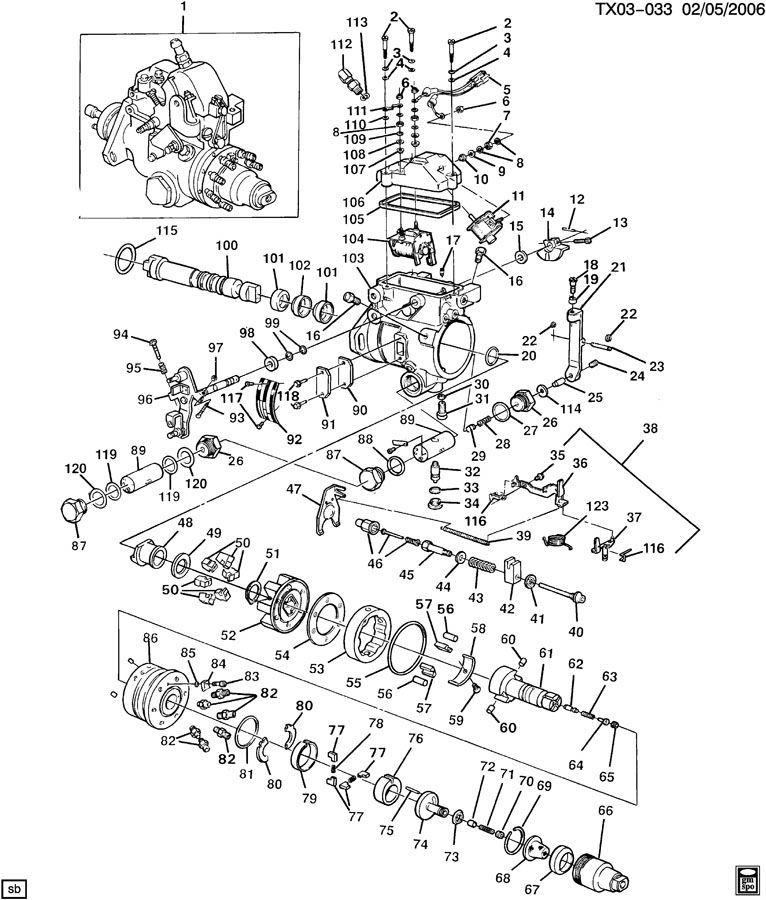 stanadyne fuel injection pump diagram fuel injection pump