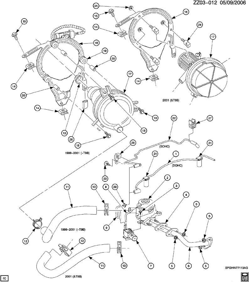 saturn 1 9 engine diagram
