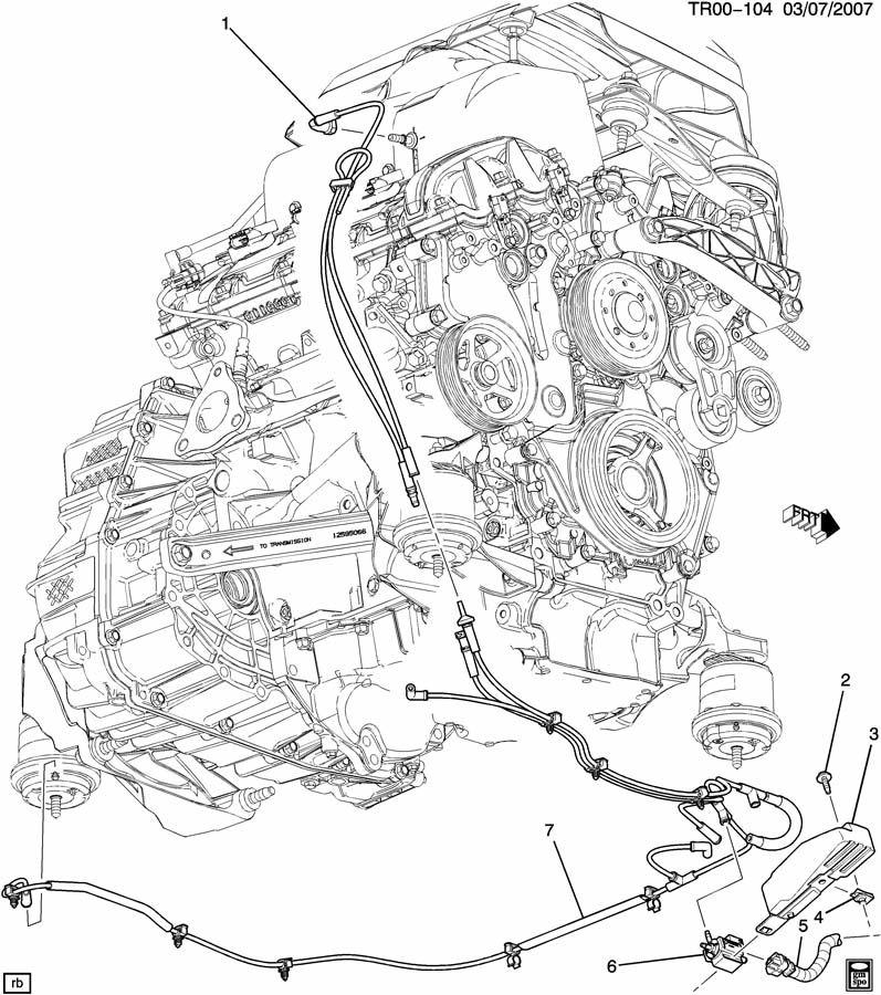 2007 Gmc Acadia Engine Diagram Electrical Circuit Electrical