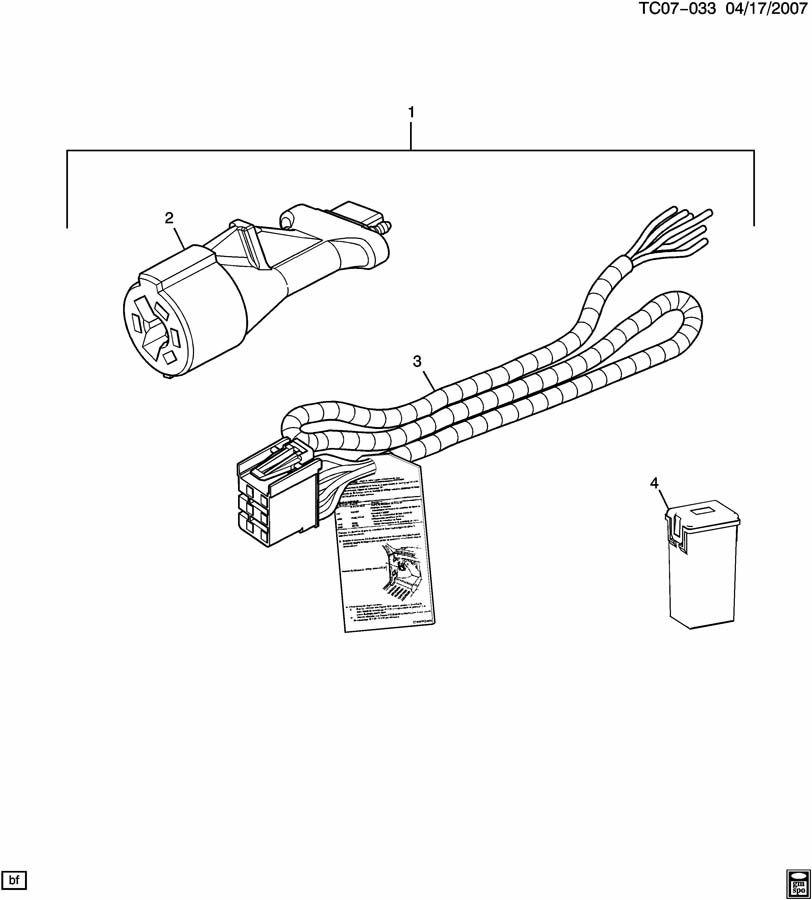 gmc trailer brake wiring harness