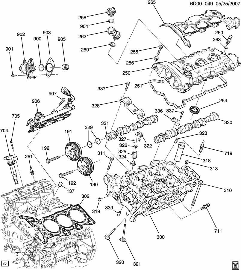 gm 3 6 vvt engine problems