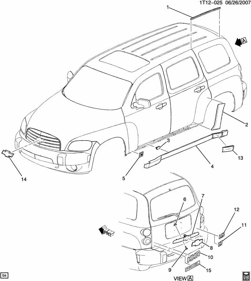 Diagram Of Chevy Hhr Wiring Schematic Diagram