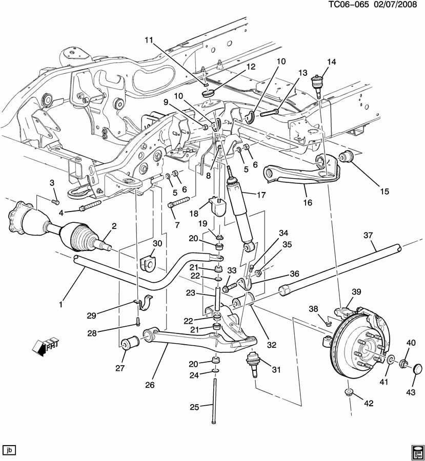 2002 chevy blazer front suspension diagram also chevy tahoe front