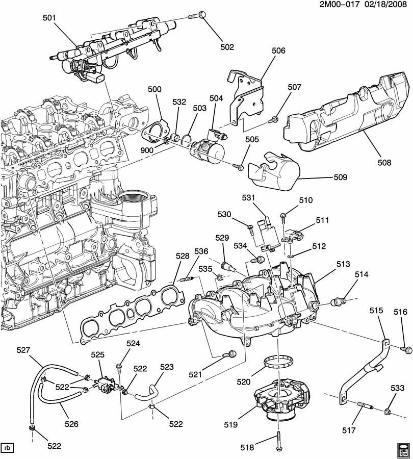 chevy colorado i4 engine diagram