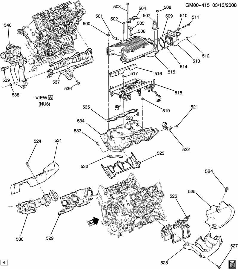 2005 pontiac g6 engine diagrams