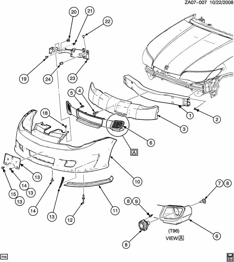 2004 saturn ion parts diagram