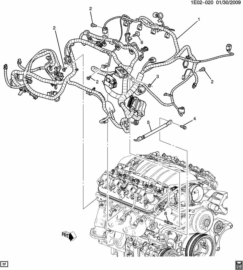 ls3 engine harness wiring diagram