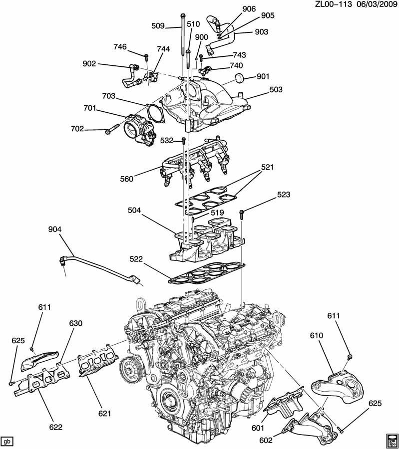 with 2006 impala serpentine belt diagram on 2014 gm 4 3l engine