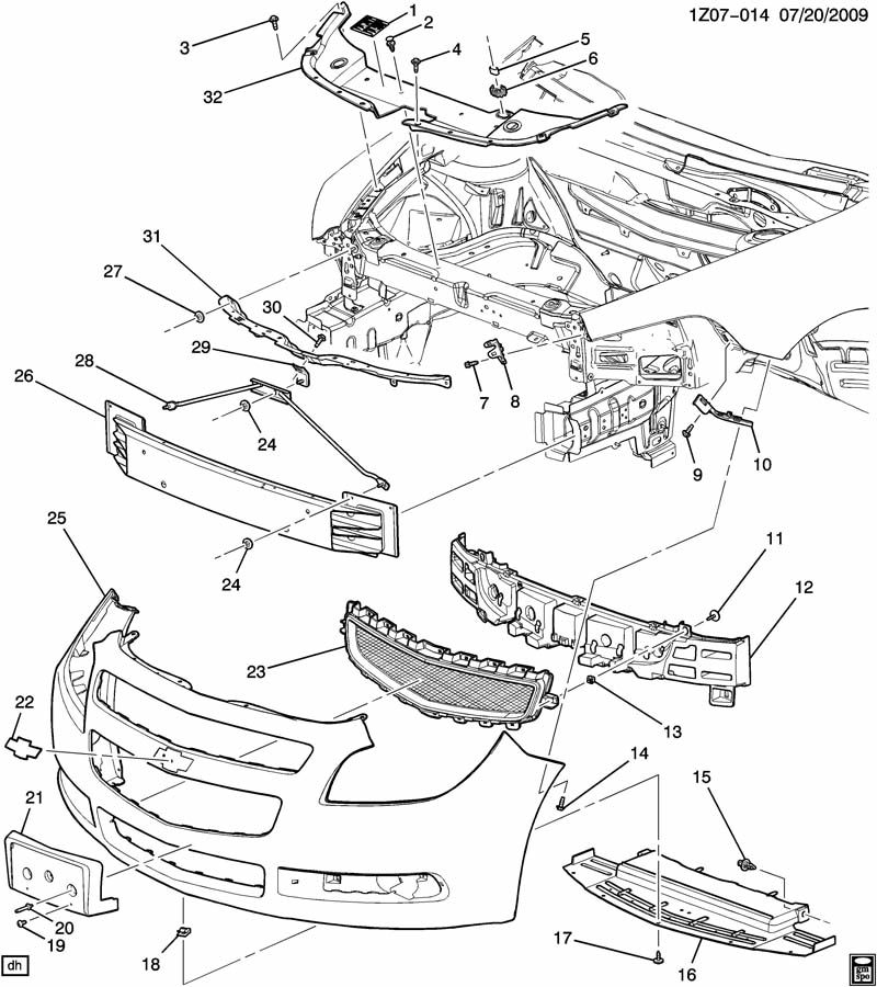 07 trailblazer fuse box diagram