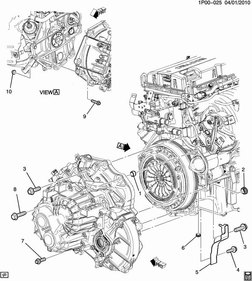 chevy cruze engine compartment diagram