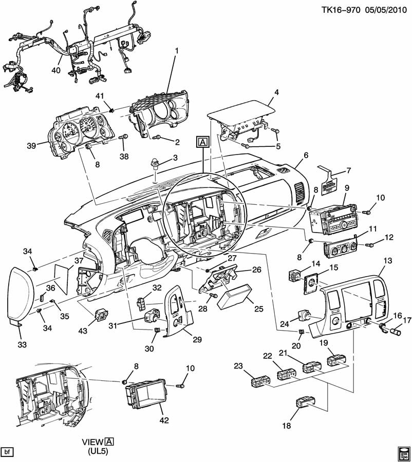 radio wiring schematic for 2015 impala ltz
