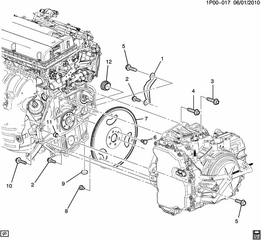 2012 chevy cruze 1.4 turbo engine diagram
