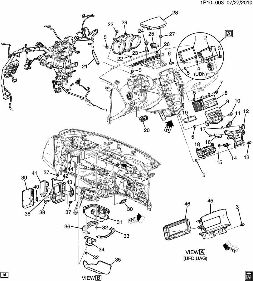 gmc acadia headlight diagram