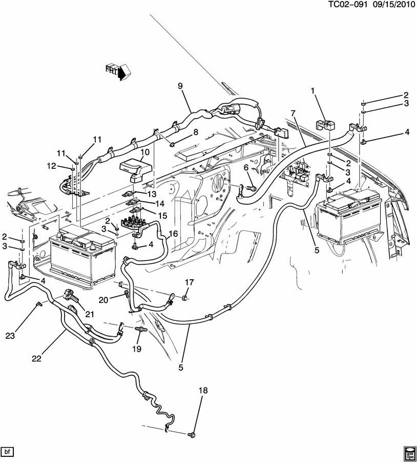 Gm Dual Battery Wiring Kit - Wiring Data Diagram