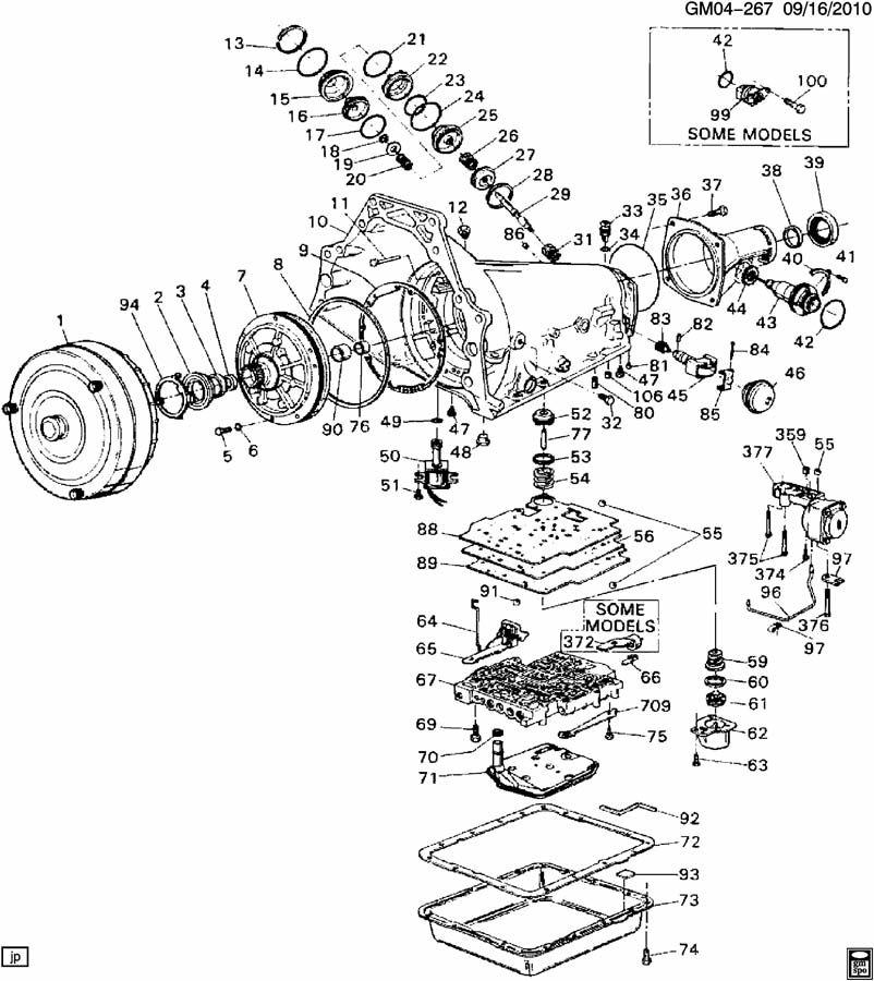 Chevy 700r4 Transmission Parts Diagram Car Interior Design - 101