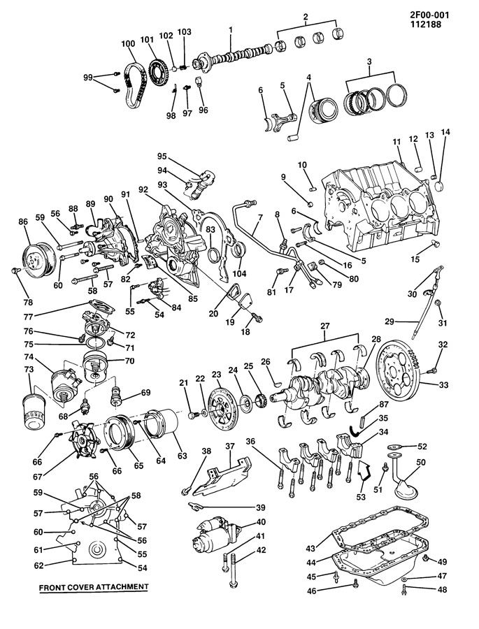 buick 3800 firing order diagram