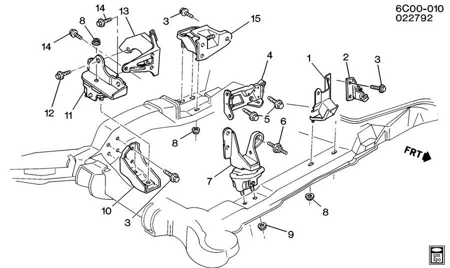 2005 cadillac deville engine diagram