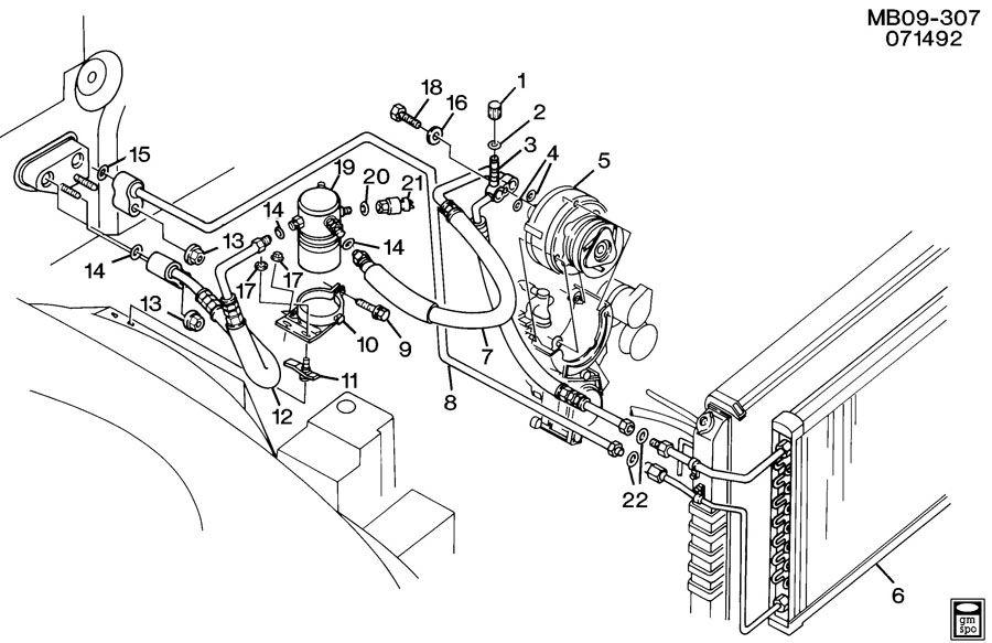 1989 chevy silverado engine diagram
