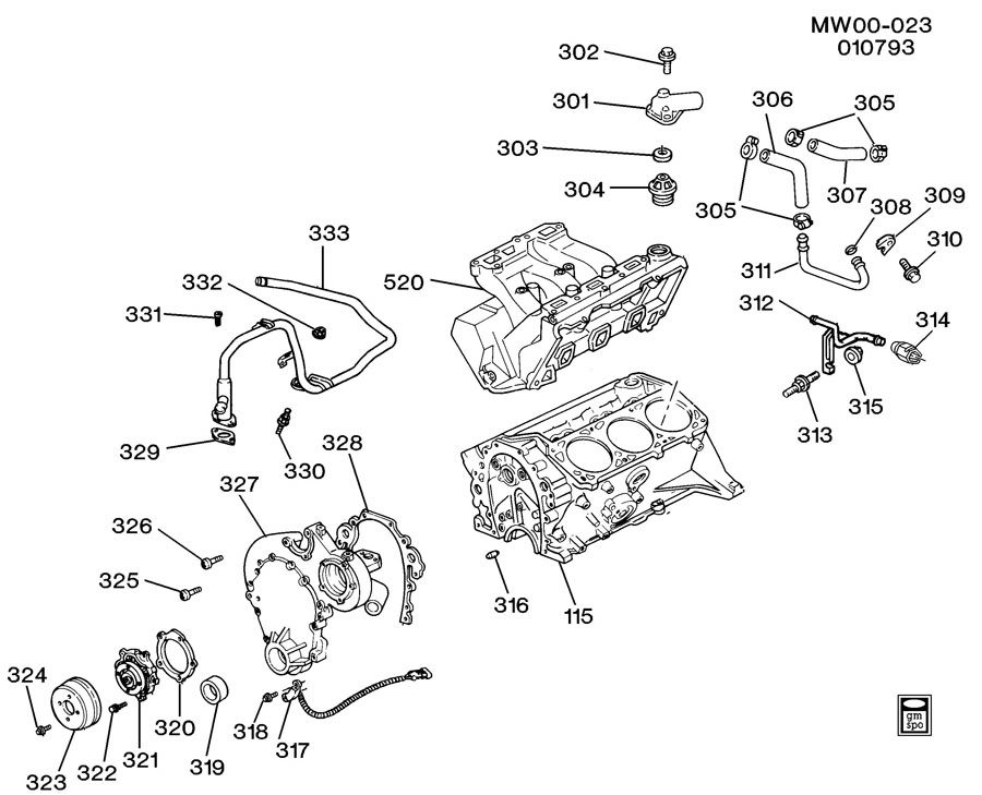 Chevy 3 4l Engine Cooling Diagram \u2013 Vehicle Wiring Diagrams