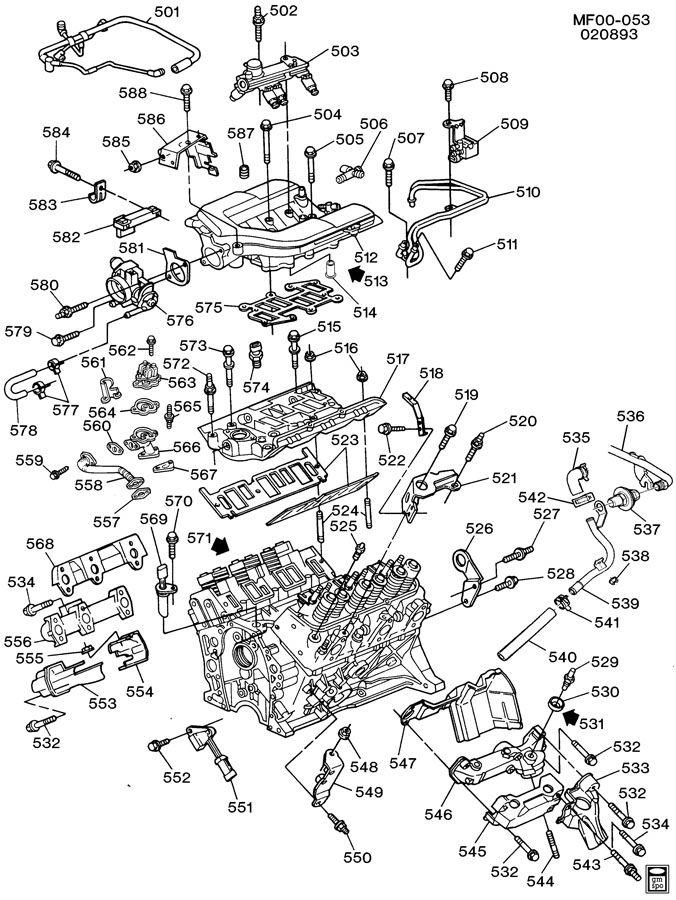 2000 buick lesabre 3.8 engine diagram