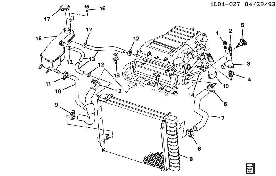 1996 buick century 3 1l engine diagram